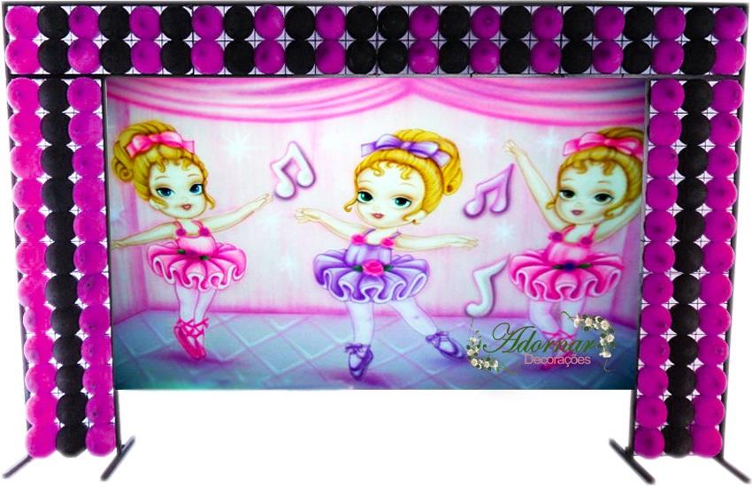 aluguel decoração bailarinas tema completo