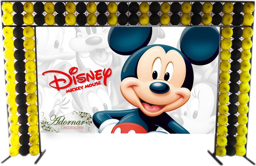 aluguel decoração mickey mouse tema completo