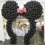 Arco de Balões Orelha da Minnie