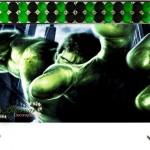 Aluguel Decoração Hulk Tema Completo