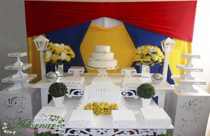 Aluguel Decoração 15 Anos Festa Fantasia Branca de Neve