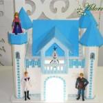 Aluguel do Castelo Tema Frozen Com Iluminação