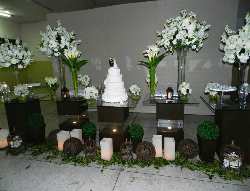 Aluguel Decoração Mesa de Vidro Para Casamentos e Noivados
