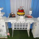 Decoração Kit Provençal Festa Infantil Carros Disney