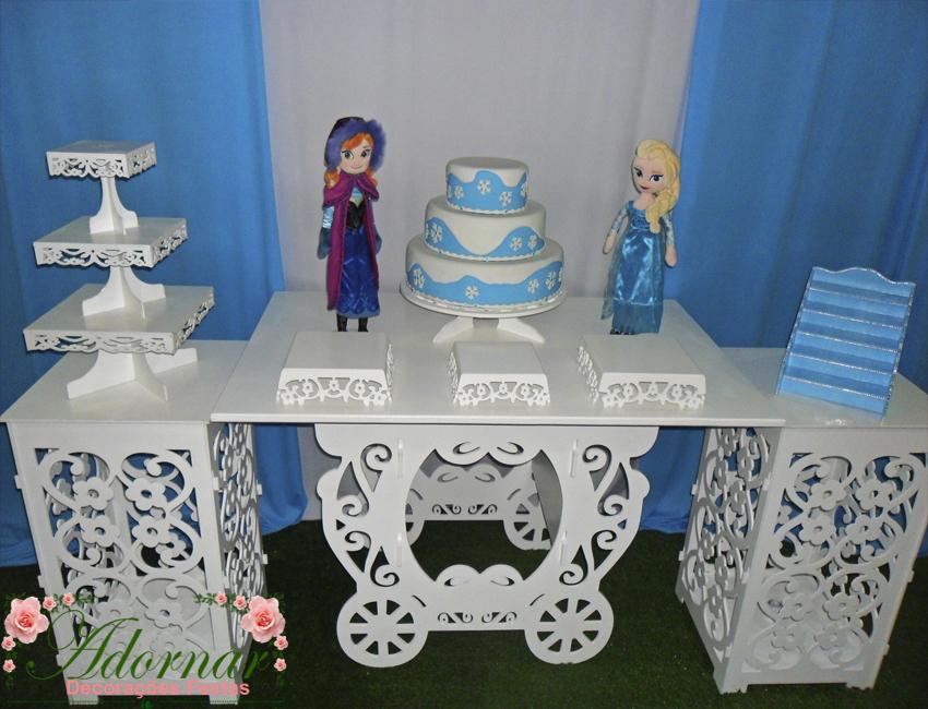 Decoração Kit Provençal Festa Infantil Frozen