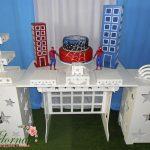 Decoração Kit Provençal Festa Infantil Homem Aranha