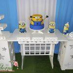 Decoração Kit Provençal Festa Infantil Minions