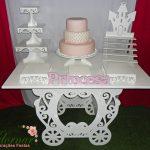 Decoração Kit Provençal Festa Infantil Princesas Kit Rosa