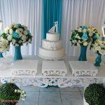 Aluguel Decoração Casamento Noivado Azul Tiffany em Provençal
