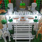 Aluguel Decoração Safari Tema Completo em Provençal