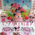 Aluguel Decoração Minnie Mouse Rosa