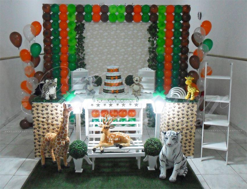 Aluguel Decoração Chá de Bebê Safari